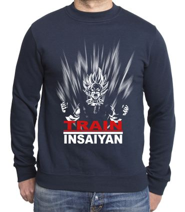 Train Insaiyan Herren Sweatshirt – Bild 2