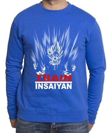 Train Insaiyan Herren Sweatshirt – Bild 3