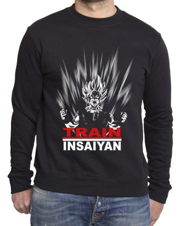 Train Insaiyan Men's Sweatshirt – Bild 1