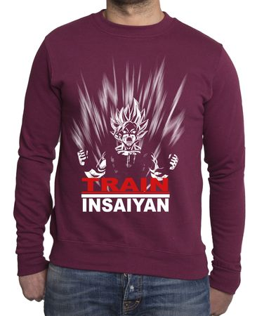 Train Insaiyan Herren Sweatshirt – Bild 4