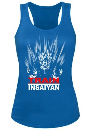 Train Insaiyan Damen Tank Top – Bild 2