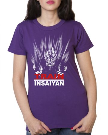 Train Insaiyan Damen T-Shirt – Bild 3