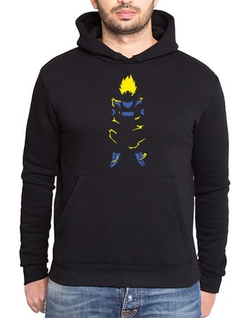 Super Saiyan Body Men's Hoodie – Bild 1