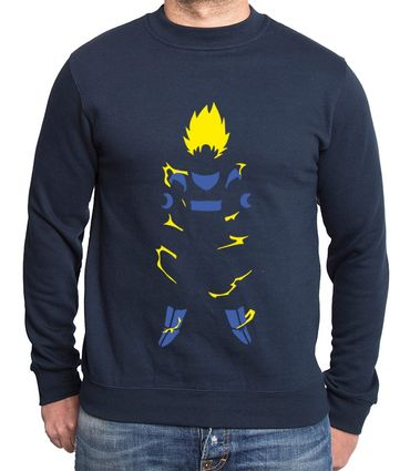 Super Saiyan Body Men's Sweatshirt – Bild 7