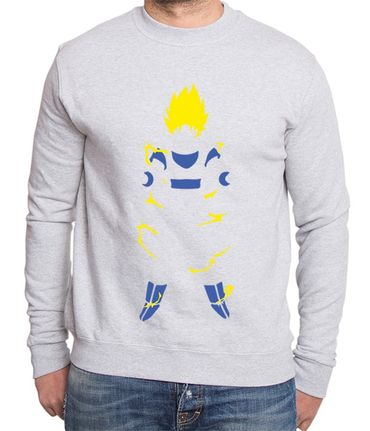 Super Saiyan Body Men's Sweatshirt – Bild 3