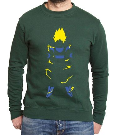 Super Saiyan Body Men's Sweatshirt – Bild 4