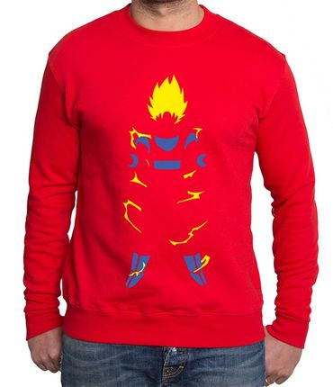 Super Saiyan Body Men's Sweatshirt – Bild 5