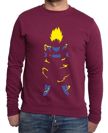 Super Saiyan Body Men's Sweatshirt – Bild 6