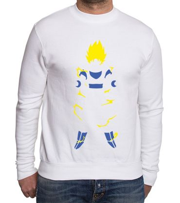 Super Saiyan Body Men's Sweatshirt – Bild 1