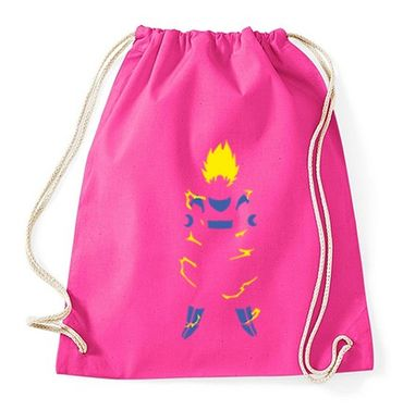 Super Saiyan Body Gym Bag Turnbeutel – Bild 5