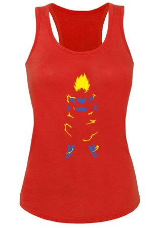 Super Saiyan Body Damen Tank Top – Bild 2