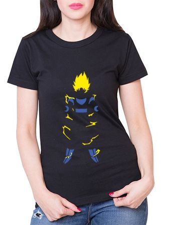 Super Saiyan Body Damen T-Shirt – Bild 1