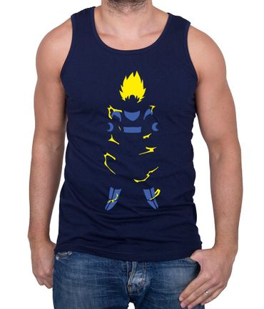 Super Saiyan Body Herren Tank Top – Bild 5