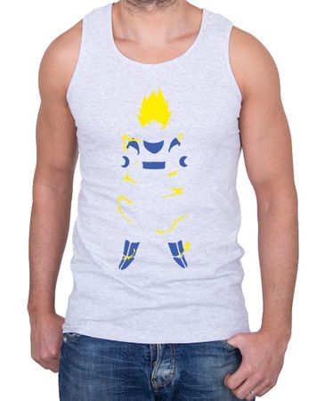 Super Saiyan Body Herren Tank Top – Bild 3