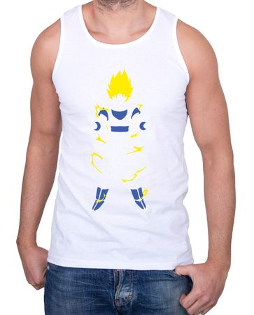 Super Saiyan Body Herren Tank Top – Bild 2
