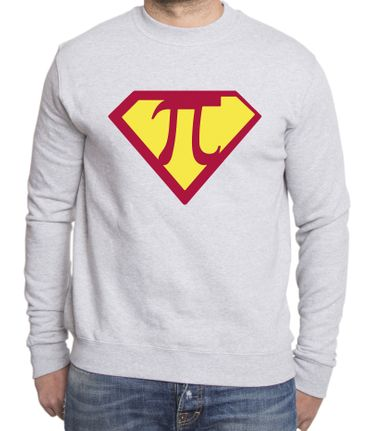 Super Pi Men's Sweatshirt – Bild 5