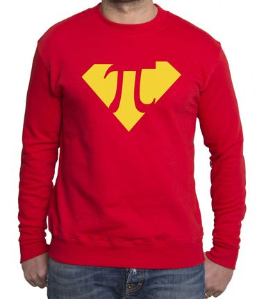 Super Pi Men's Sweatshirt – Bild 3