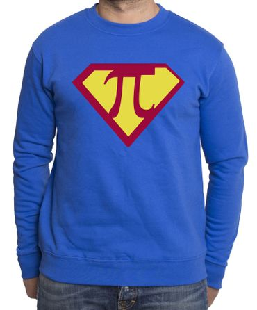 Super Pi Men's Sweatshirt – Bild 4
