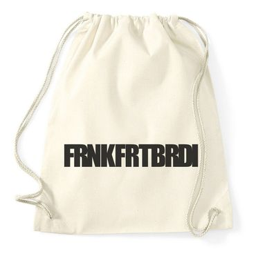 Frnkfrtbrdi Gym Bag Turnbeutel – Bild 7