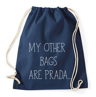 My Other Bags Are Prada Gymnastics Gym Bag – Bild 6