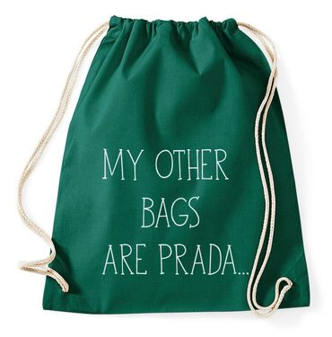 My Other Bags Are Prada Gym Bag Turnbeutel – Bild 7