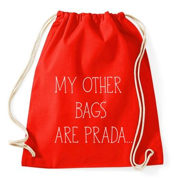My Other Bags Are Prada Gym Bag Turnbeutel – Bild 5