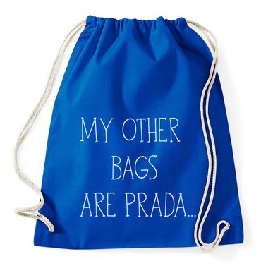 My Other Bags Are Prada Gym Bag Turnbeutel – Bild 4