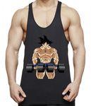 Sambosa Goku Body Gym Herren Tank Top 001