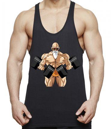 Sambosa Roshis Body Gym Herren Tank Top