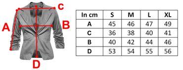 3/4 sleeve women blazer – Bild 14