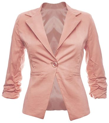 3/4 sleeve women blazer – Bild 5