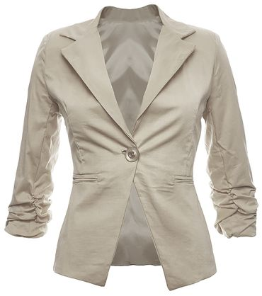3/4 sleeve women blazer – Bild 11