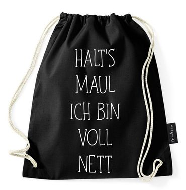 Bad Face Day Gymnastics Gym Bag – Bild 3