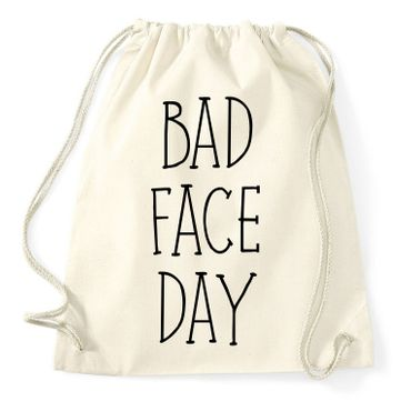 Bad Face Day Gymnastics Gym Bag – Bild 2