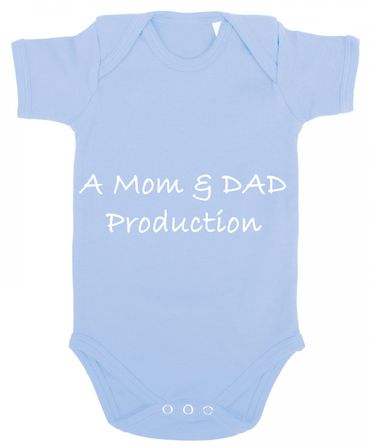 A Mom and Dad Production Baby Strampler Body – Bild 1