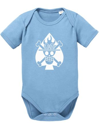 One Piece Ace Skull Fire Baby Body – Bild 3