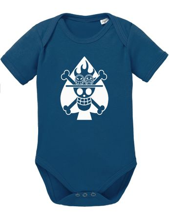 One Piece Ace Skull Fire Baby Body – Bild 5