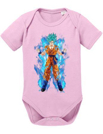 Goku Blue Aura Baby Body – Bild 2