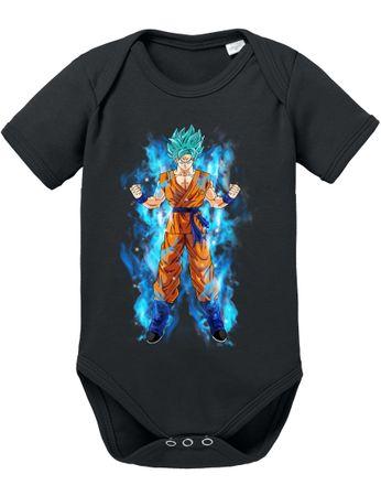 Goku Blue Aura Baby Body – Bild 4