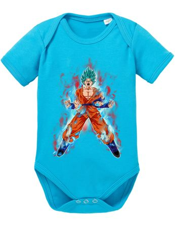 Goku Blue Fire Baby Body – Bild 7