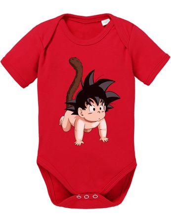 Son Goku baby Baby Body – Bild 1