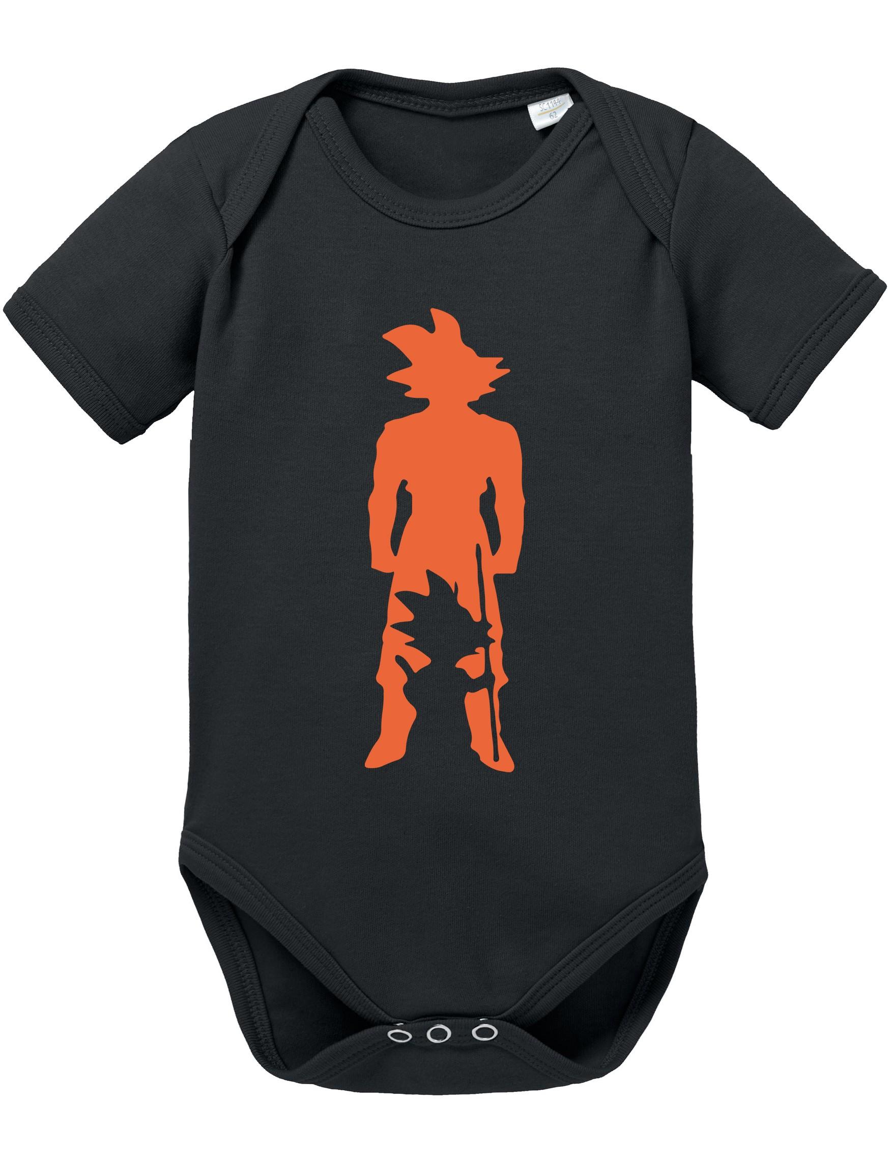 konkurrenzfähiger Preis 5c00e 40f0b Son Goku in Son Goku Baby Strampler Body