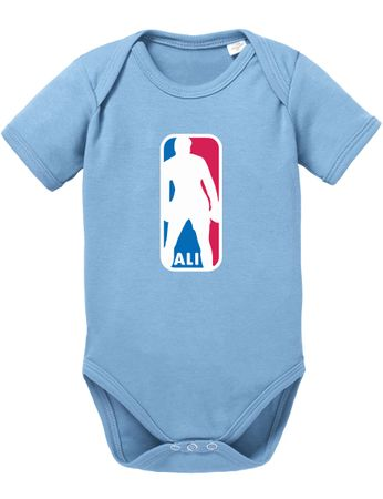 Ali NBA Basketball Baby Strampler Body – Bild 1