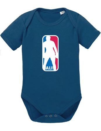 Ali NBA Basketball Baby Strampler Body – Bild 3