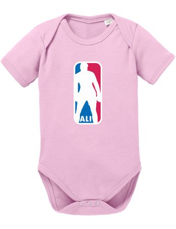 Ali NBA Basketball Baby Strampler Body – Bild 4