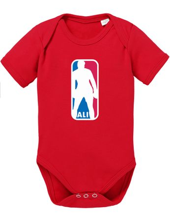 Ali NBA Basketball Baby Strampler Body – Bild 5