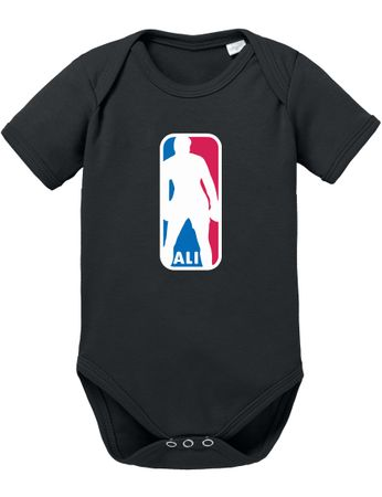 Ali NBA Basketball Baby Strampler Body – Bild 6
