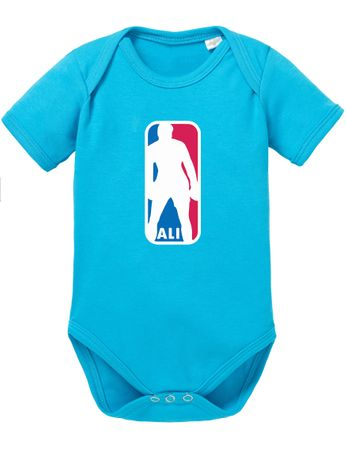 Ali NBA Basketball Baby Strampler Body – Bild 7