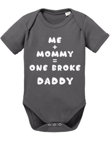 Me Mommy Broke Daddy Baby Body – Bild 2