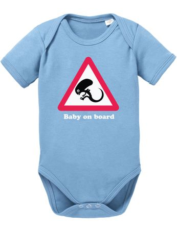 Alien Baby on Board Baby Body – Bild 7